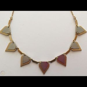 J. Crew Gold & Silver Statement Necklace
